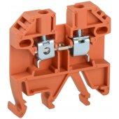 YZN30-002-K09; Клемма винтовая КВИ-2.5мм² оранжевая