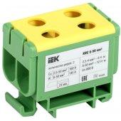YZN23-050-K52; Клемма вводная силовая КВС 6-50 мм² 2-рядная PE