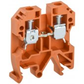 YZN30-006-K09; Клемма винтовая КВИ-6мм² оранжевая