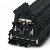 3026654; Клеммы для установки предохранителей UKK 5-HESILED 24 (5X20)