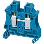 Клеммник винтовой проходной, сечением провода 10мм², 2 точки подключения; NSYTRV102BL