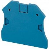 Крышка торцевая 2.2мм 2 точки присоединения синяя для винтовых клемм NSYTRV22/TRV42/TRV62/TRV102; NSYTRAC22BL