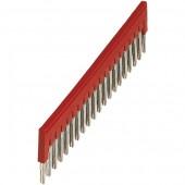 Перемычка неизолированная для клеммников 4мм 70 полюсная; NSYTRAL420