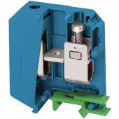 Клеммник винтовой проходной сечением провода 70мм² 2 точки подключения синий; NSYTRV502BL