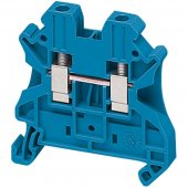 Клеммник винтовой проходной сечением провода 4мм² 2 точки подключения; NSYTRV42BL