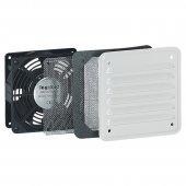 Вентилятор с металлической решеткой 30/160 м³/ч 230 В 50/60 Гц RAL 7035; 034817