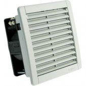 Вентилятор с пластмассовой решеткой 40/160 м³/ч 230 В 50/60 Гц RAL 7035 150х150мм; 034850