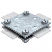 5314666; Крестовой соединитель DIN для плоских проводников (256 A-DIN 40 FT)