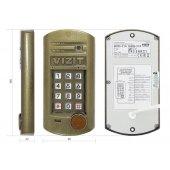 Блок вызова для совместной работы с блоками управления домофоном СЕРИЙ 300 или 400 кроме БУД-420М; БВД-315R