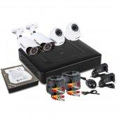 45-0416; Комплект видеонаблюдения, 2 внутренние, 2 наружные Full HD камеры, с HDD 1Tб