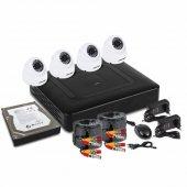 45-0413; Комплект видеонаблюдения, 4 внутренние камеры AHD-M, с HDD 1Tб