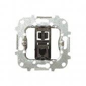 Розетка телекоммуникационная на 8 контактов RJ45 категория 5е; 8118.5 (8118_5)