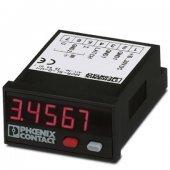 2864011; Модуль MCR с цифровым индикатором для измерения и отображения значений нормированных сигналов, 5-символьный индикатор MCR-SL-D-U-I