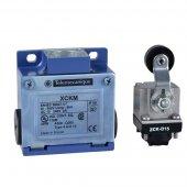 XCKJ Выключатель концевой 1НО1НЗ ввод iso16, термопласт. ролик. рычаг; XCKM115H29
