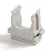 PR.0632; Крепеж-клипса для труб АБС-пластик в карт Ø32 (50шт/500шт уп/кор)