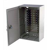 04-0152; Коробка распределительная на 100 пар, пластик с замком 320х215х75 мм