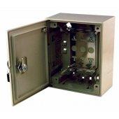 04-0131; Коробка распределительная на 30 пар, пластик с замком 170х140х75 мм