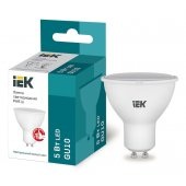 LLE-PAR16-5-230-40-GU10; Лампа светодиодная ECO PAR16 софит 5Вт 230В 4000К GU10