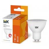 LLE-PAR16-7-230-30-GU10; Лампа светодиодная ECO PAR16 софит 7Вт 230В 3000К GU10