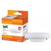 LLE-T80-12-230-30-GX53; Лампа светодиодная Eco T75 таблетка 12Вт 230В 3000К GX53