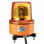 Лампа маячок вращающийся красная 230В АС 130мм; XVR13M04L