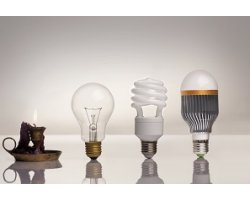 Светодиодные лампы E27, E14, GU5.3: освещение для дома