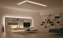 Применение светодиодных лент в доме