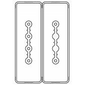 LTC40NSP43AA000 Секция прямая шинопровод 3+3 точек отвода L=3000мм Cu 4P+2P40A