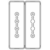 LTC25NSP43AA000 Секция прямая шинопровод 3+3 точек отвода L=3000мм Cu 4P+2P25A