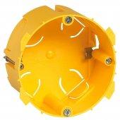 089348; Batik Коробка монтажная 1 пост для встраиваемых розеток 20А и 32А для гипсокартона глубина 40мм