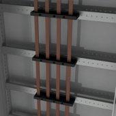 R5DTF600 Рейка для шинодержателей, установка по ширине, Ш=600мм, 1 упаковка - 4шт.