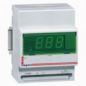 Цифровой амперметр/вольметр 0-500В монтаж на DIN-рейке; 004663