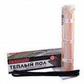 51-0502; Теплый пол (нагревательный мат) Extra, площадь 1.0 м2 (0.5х2.0 метра), 160Вт, (двух жильный)