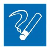"""56-0032; Наклейка информационный знак """"Место курения"""" 100х100"""
