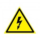 56-0006-4; Наклейка знак электробезопасности «Опасность поражения электротоком» 85х85х85 мм 20шт