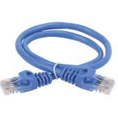 PC03-C5EU-2M; Коммутационный шнур (патч-корд) категория 5Е UTP 2м синий
