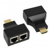 17-6916; HDMI удлинитель по витой паре RJ-45(8P-8C)