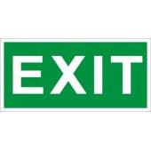 """2502000280; Пиктограмма ПЭУ 012 """"Exit"""" (130х260)"""