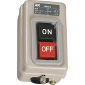 KVK10-06-3; Выключатель кнопочный ВКИ-211 3P 6А IP40 230/400В