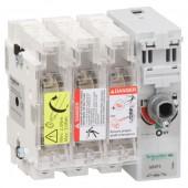 GS2F3; Корпус выключатель-разъединитель-предохранитель 3п 14х51 50A