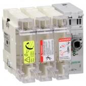 GS2J3; Корпус выключатель-разъединитель-предохранитель 3п 22х58.100A