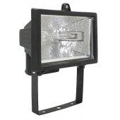 LPI01-1-0150-K02; Прожектор галогенный 150вт ИО150 черный IP54