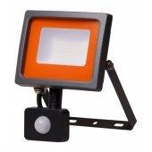 Прожектор светодиодный ДО-30Вт SMD 6500К 2550 Лм датчик движения SMD; 5001411