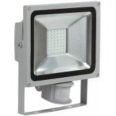 LPDO502-30-K03; Прожектор светодиодный ДО-30вт с ИК датчиком 6500К 2400Лм IP44 СДО05-30Д серый