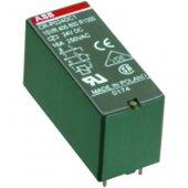 Реле промежуточное CR-P230AC2 8А 230В 2ПК CR-P без индикации без розетки; 1SVR405601R3000