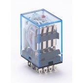 Промежуточное реле ПР-102 4 контакта с LED индикацией 5А 220В AC; 23225DEK