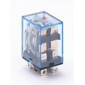 Промежуточное реле ПР-102 2 контакта с LED индикацией 10А 220В AC; 23200DEK