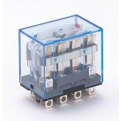 Промежуточное реле ПР-102 4 контакта с LED индикацией 10А 220В AC; 23210DEK