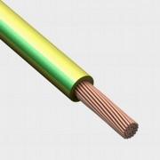 Провод ПуГВнг(А)-LS 1x4 желто-зеленый; 6751