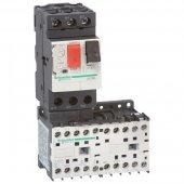 GV2ME06K2M7; GV2 Пускатель комбинированный, реверсивный 1-1,6А цепь управления 220V 50/60Гц